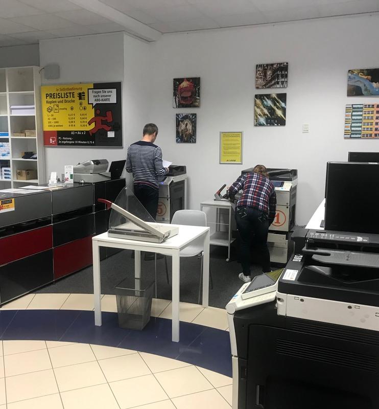 GRIMM Copyshop Berlin Charlottenburg